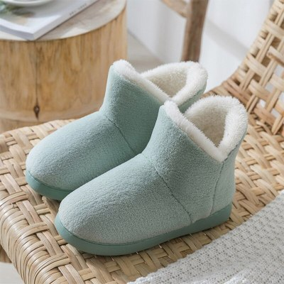 Women Classic Snow Boots Ladies Furry Warm Ankle Boots Flat Comfortable
