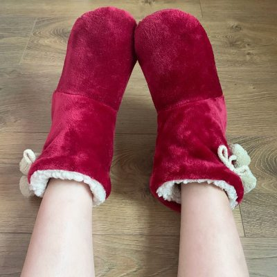 Winter Womenr Solid Color No-slip Soft Shoes Woman Casual House Shoes