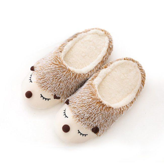 Women Slippers  Indoor Floor Shoes  Winter Cute Flats Shoes