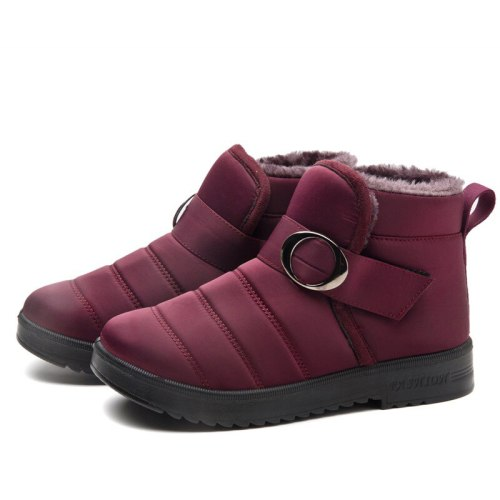 Women Winter Snow Boots Ankle Boots Ladies Casual Shoe Flat Female Platform