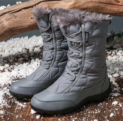 Women's Shoes Snow Boots Ankle Boots Lady Waterproof Cozy Shoes