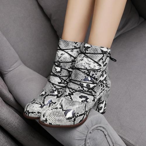 High Heels Shoes Women Elegant Office Ladies Ankle Booties