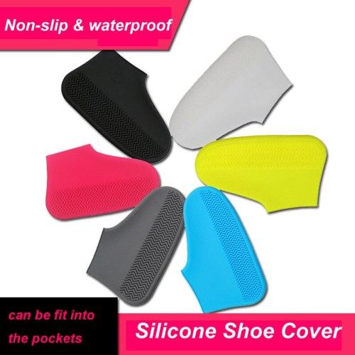 Waterproof Shoe Covers Outdoor Non-Slip Rain Boot Overshoes for Kids Men Women Shoes Protectors
