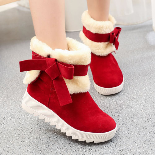 2020 Fashion Women Boots Female Winter Shoes Woman Fur Warm Snow Boots Women Casual Ankle Boots Christmas Boots