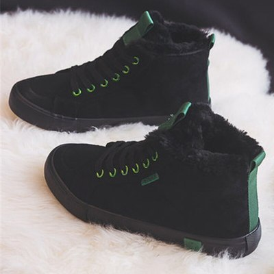 New 2020 Winter Ankle Boots Women Warm Thick Plush Suede Snow Boots Female Sneakers Fur Shoes Women