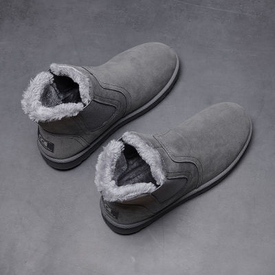 PU Leather Men Boots Winter Autumn Ankle Boots Wild Footwear Shoes Men Shoes