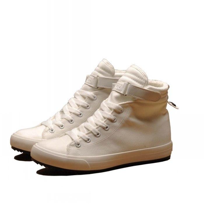 Winter Shoes Men High top Canvas Casual Men Ankle Boots