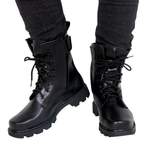 Steel Toe Military Boots Warm Fur Winter  Men Safety  Work Boots