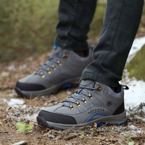 New Winter Autumn Men Military Boots Outdoor Sneakers