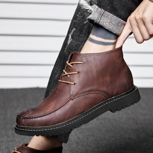 Mens Fashion Shoes Men Casual Shoes Flats Male Leather Shoes
