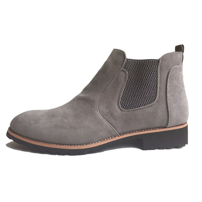 Autumn Winter Shoes  Fashion Men's Boots Male Brand Ankle Boots