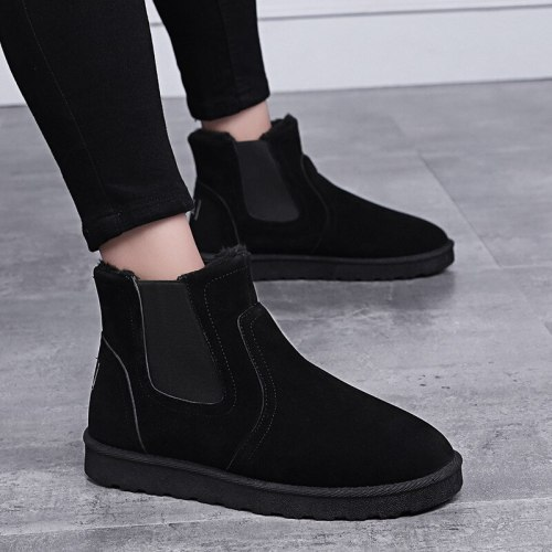 Boots Men Shoes Ankle Boots Leather Boots For Men Trendy Autumn Shoes