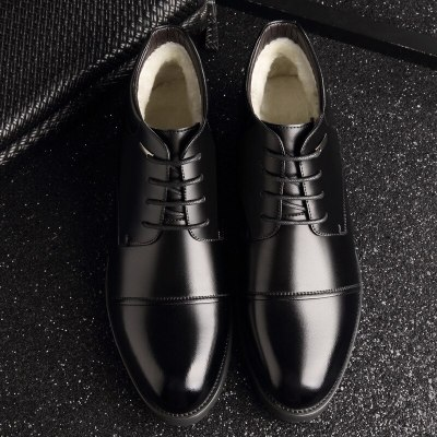 New Handmade Men Genuine Leather High Quality Snow Men Boots