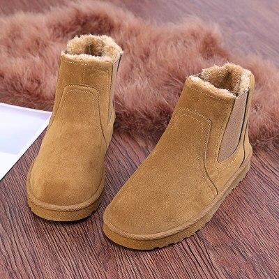 Boots Men Shoes Ankle Boots Men Cow Suede Leather Boots