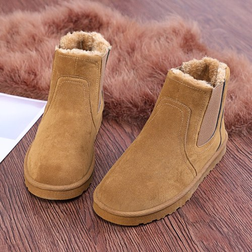 Boots Men Shoes Ankle Boots Men Cow Suede Leather Boots