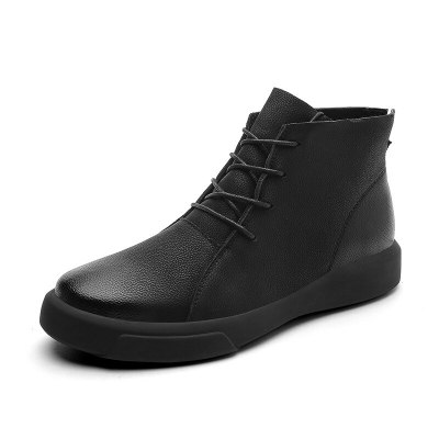 Mens outdoor Ankle Boots High-top fashion Walking Shoes