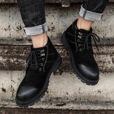 New Fashion Snow Ankle Waterproof Wear-resisting Casual Boot Shoes