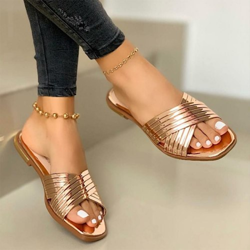 Women Beach Shoes Outdoor Flat Casual Shoes  Footwear