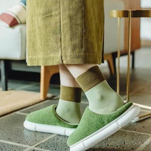 Winter Home Slippers Women Cotton Female Warm Plush Big Size Footwear