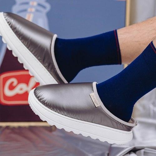 Winter Women Men Warm Slippers Shoes Woman Casual Flat Footwear