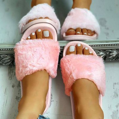 Women Slippers Fashion Short Comfortable Open Toe Shoes