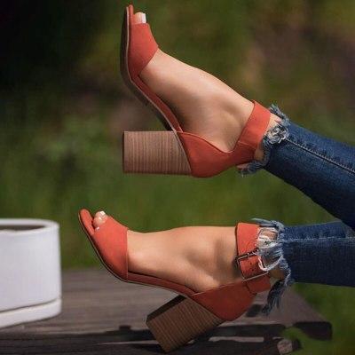 Women high heels sandals summer open toe gladiator ladies shoes