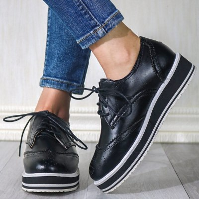 Vintage British style Comfortable Sole Shoes Flats Women
