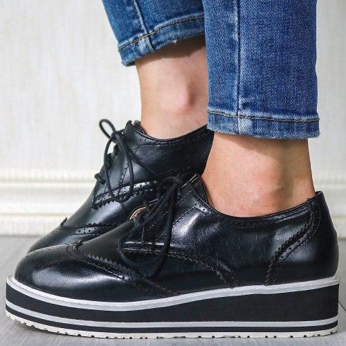 Vintage British style Comfortable Sole Shoes Flats Women