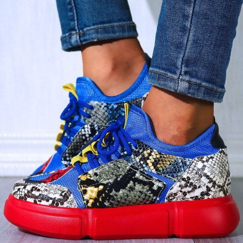 Fashion Knitting walking Sneakers Cosy Leisure Women Flats