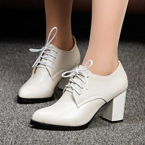 Lady High Heels Elegant  Concise Shoes Women Pumps Female