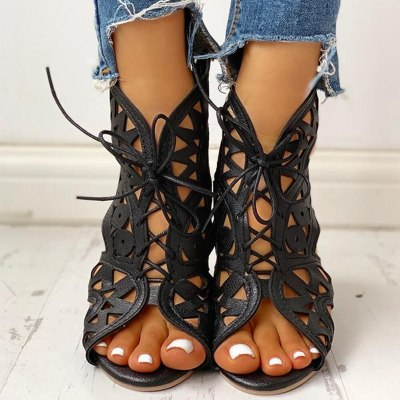 summer boot sandals woman leisure wedge heel comfort women shoes