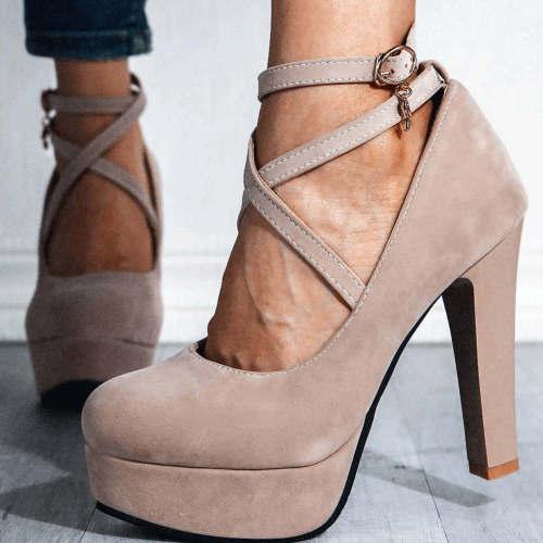 High Heels Platform Wedding Party Ladies Shoes Women Pumps Female