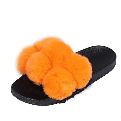 Winter Slipper Platform Thick  Indoor Slides Multi Non Slip Shoes