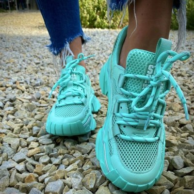 Fashion Breathable Mesh Sneakers Cosy Leisure Women Flats Shoes