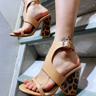 Low Sandals Woman Leather Comfort Shoes For Women Summer Heels