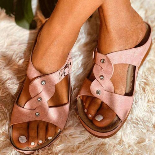 Slides Flat Summer 2020 Women Gladiator Shoes Fashion slippers