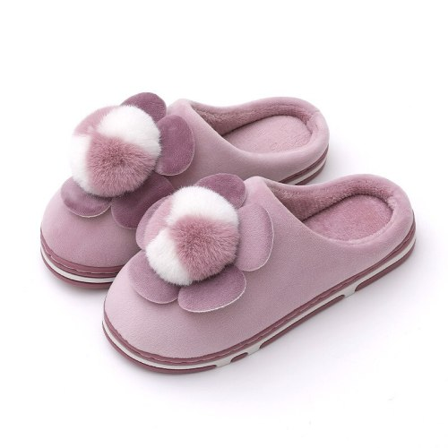Women Winter Warm Slippers Casual Ladies Soft Comfort Shoe