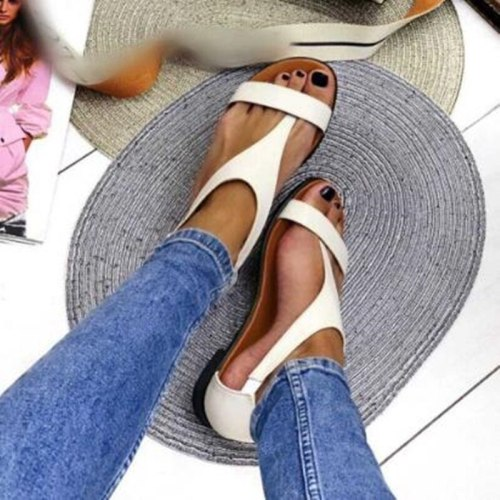Women Beach Flat Sandals New Casual Shoes Fashion Ladies