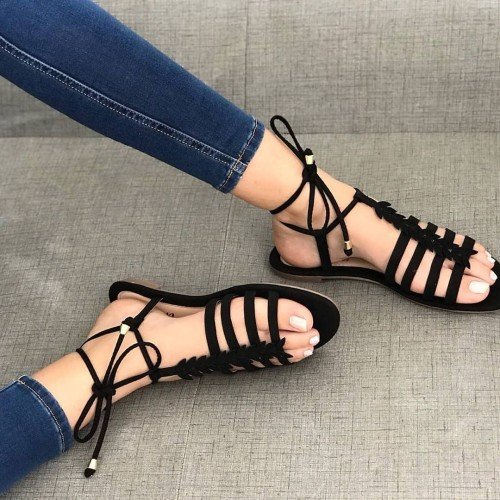 Fashion Flats Sexy Women Shoes Casual Plus Size Sandals