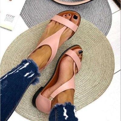 Women Beach Flat Sandals New Casual Shoes Fashion Ladies