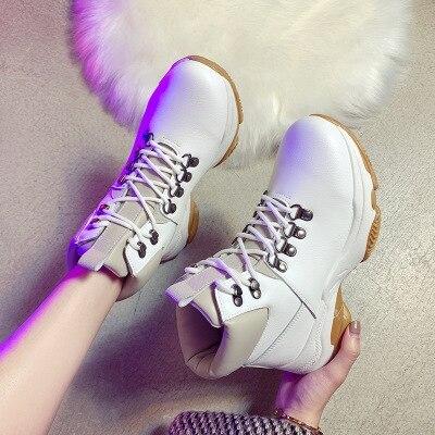 Women's Boots Platform Casual Ladies Short Boots Warm Ankle Boots Women Booties