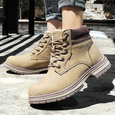 Women Ankles Boots Ladies Boots Shoes Lace-Up Warm Shoes for Women Booties