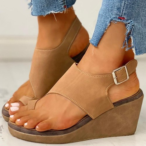 Summer Women Sandals Wedges High Heels Beach High Heel Sandals