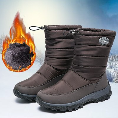 Women's snow boots Warm Ankle Boots Female Platform Boots Ladies Warm Shoes