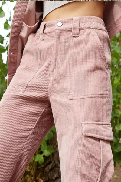 Pocket Women's Pants Fashion Pants Trousers