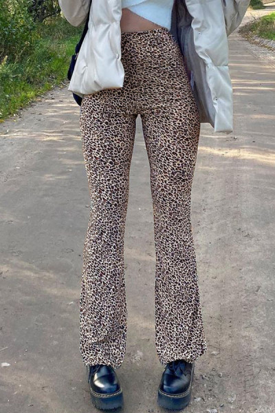 High Waist Pants Fashion Women Party Club Trousers Autumn