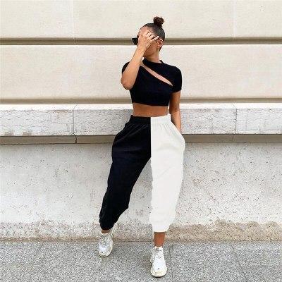 Women Pants Casual High Waist Trousers Women