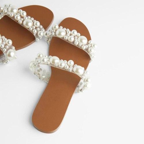 Women's Shoes Flat Beach Wear Slippers