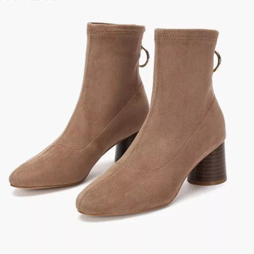Women's Shoes Boots High heel chunky heel boots