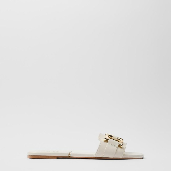 Women's Shoes Flat Leather Flat Sandals